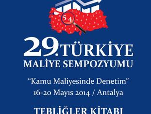 29. Türkiye Maliye Sempozyumu Tebliğler Kitabı