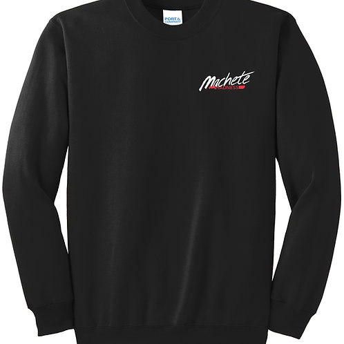 Black Fleece Crewneck Sweatshirt