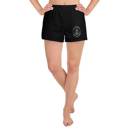 Black Women's Athletic Short Shorts