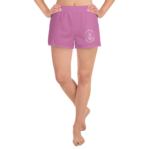 Pink Women's Athletic Short Shorts