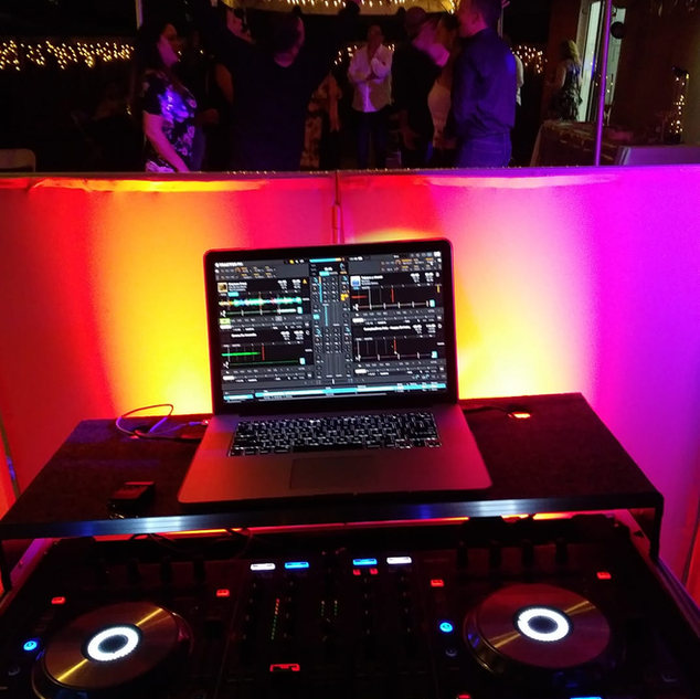 DJ in Miami and Uplighting