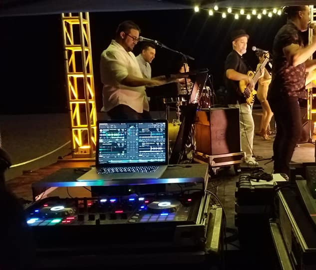 DJ in Miami, Band, String Lights and Uplighting