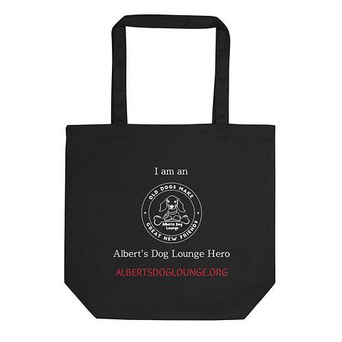 Albert's Dog Lounge Eco Cotton Tote Bag