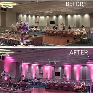 Uplighting for event Miami DJ