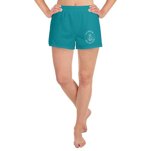 Aqua - Women's Athletic Short Shorts