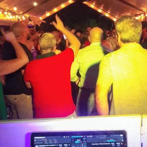 DJ setup Birthday PartyMusic Miami