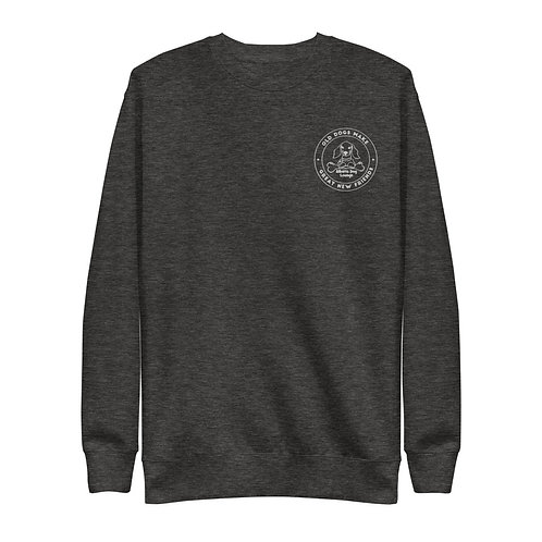 Embroidered Unisex Fleece Pullover