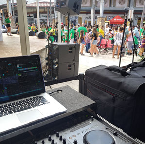 The Falls event with DJ