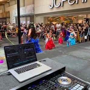 Westland Mall Miami DJ setup