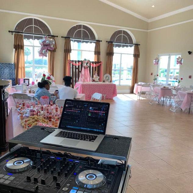 DJ in Miami, Baby Shower DJ