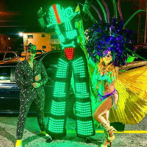 LED Robot in Miami