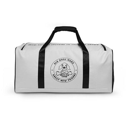 Albert's Dog Lounge Light Grey Duffle bag