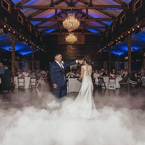 Wedding DJ Low Fog Machine