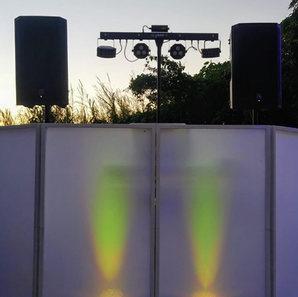 DJ setup PartyMusic Miami