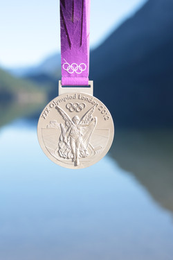 London 2012 silver medal
