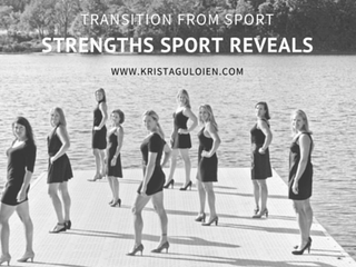 Transition From Sport: Strengths That Count