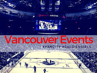 Vancouver Events: #GuloienGirls attend Vancouver Canucks Season Opener.