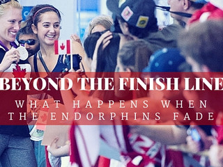 "The Book! Introducing ""Beyond the Finish Line"""