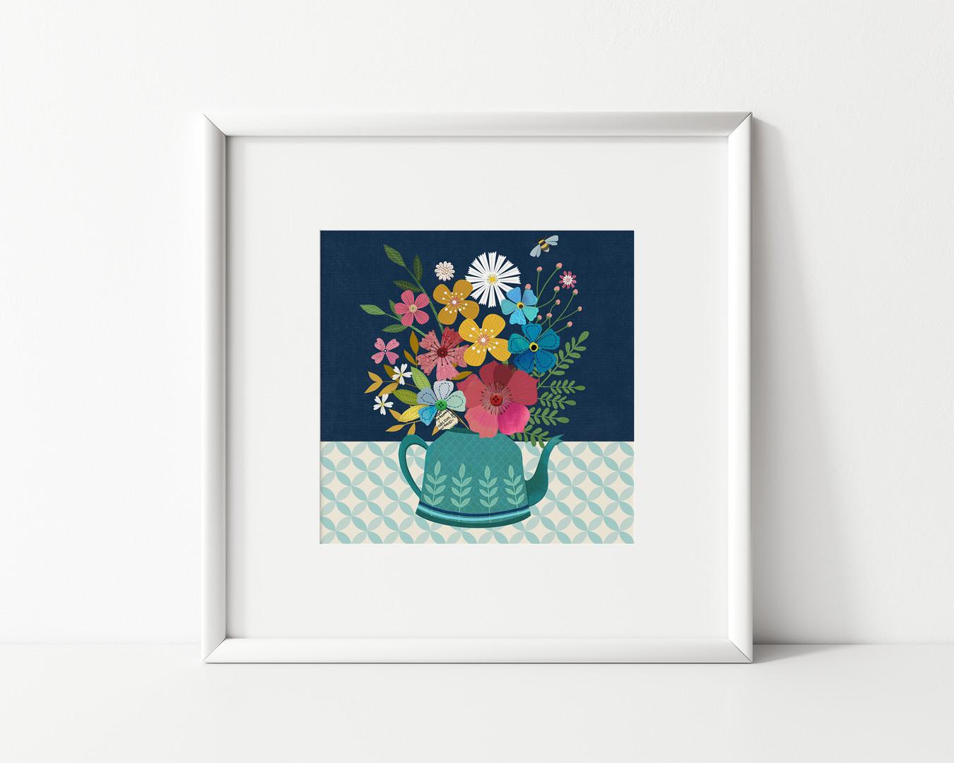 Flower Kettle