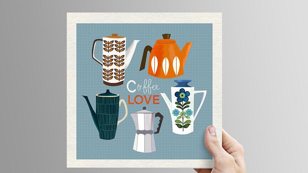 Coffee Lover - unframed print