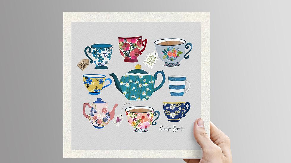 Tea Lover-unframed print