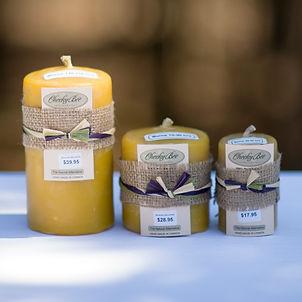 Cheeky Bee Beeswax Candles