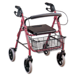 Comfort Rollator with seat