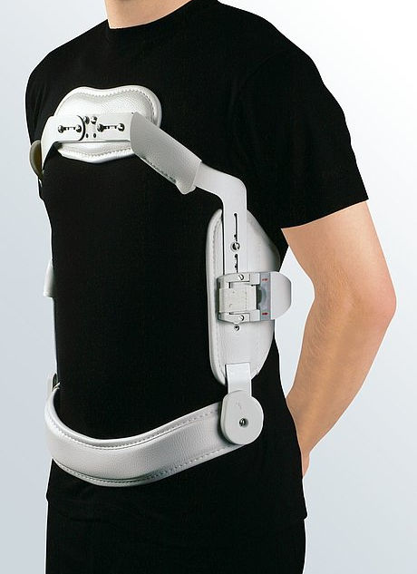 Medi 4C flex - Hyperextension brace with button or hook closer