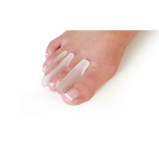 Extra-thin toe separator (crescent-shaped)