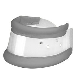 Height adjustable cervical collar