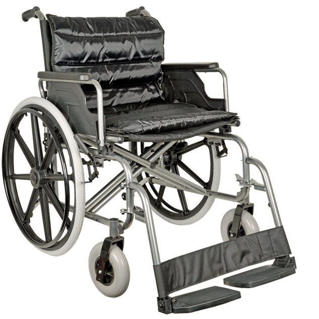 Extra-Large Steel Wheelchair