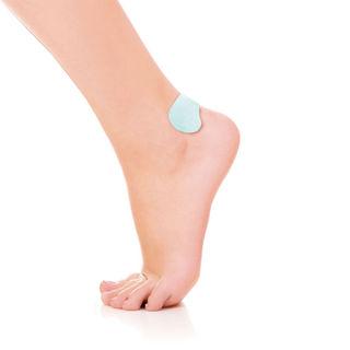 Self-adhesive heel protector
