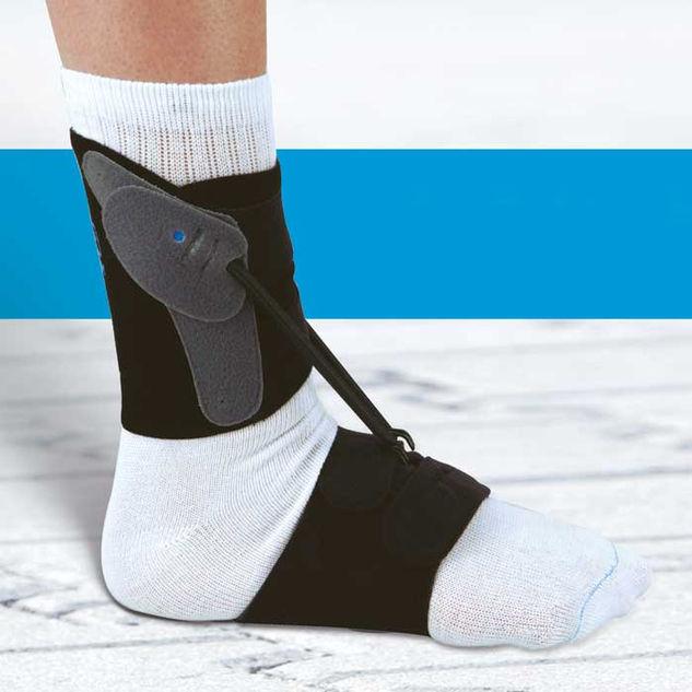 Textile Drop Foot Orthosis