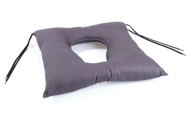 Shaped Pillow with hole