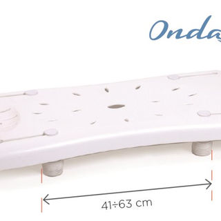 Plastic Bath bench with adjustable witdth