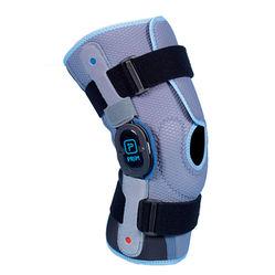 Semi-open short ROM knee brace