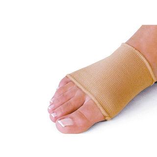 Elastic splay foot bandage with pad