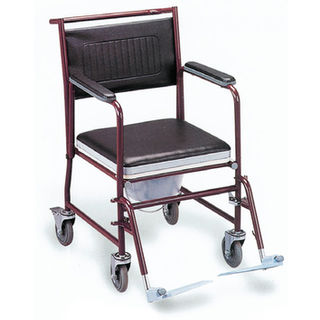 Commode Wheelchair with castors