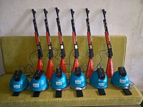 armas de infrarrojos inofensivas para escape rooom zombie