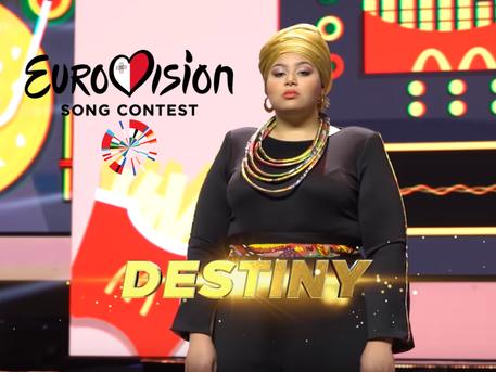 """""""Destiny"""" will represent Malta in Eurovision 2021"""