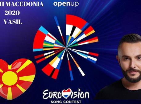 "Vasil Garvanliev's ESC song ""You"" is released! #NorthMacedonia"
