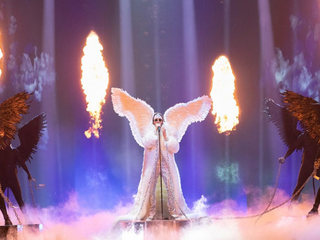 "Second rehearsal : Norway TIX ""Fallen Angel"""