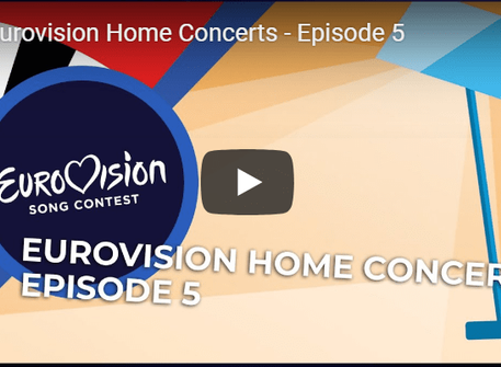 Eurovision Home Concerts Episode V is On Air! Watch LIVE here