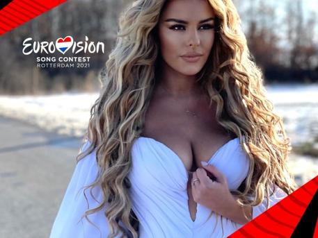 "Anxhela Peristeri revamped her ""Karma"" for Eurovision 2021"