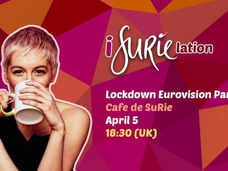 #Party SuRie's Lockdown Eurovision Party Tonight!
