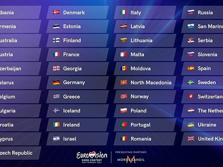 41 Countries will take part in Eurovision Song Contest 2021!