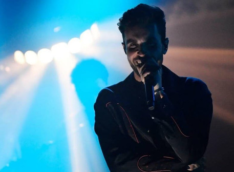 Duncan Laurence performed in Ziggo Dome as his first after-corona concert