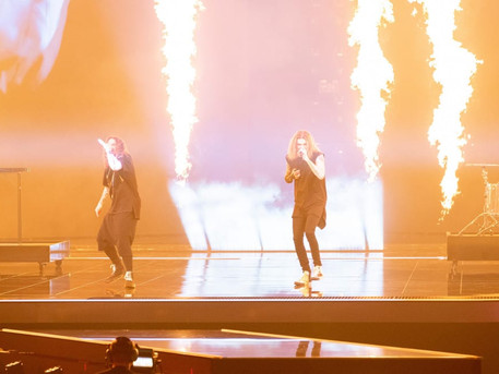 #Finland Blind Channel have performed their second rehearsal for 'Dark Side'