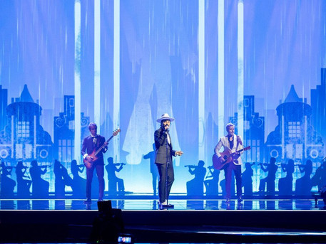 """#Portugal The Black Mamba has performed his second rehearsal for """"Love Is On My Side"""""""