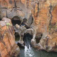 Potholes - Blyde River Canyon